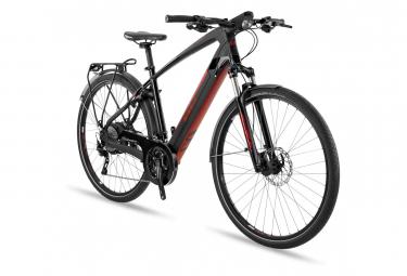 Touring Bike Elettrica BH Evo Cross Pro 28'' Shimano XT 10v Nero Rosso 2019