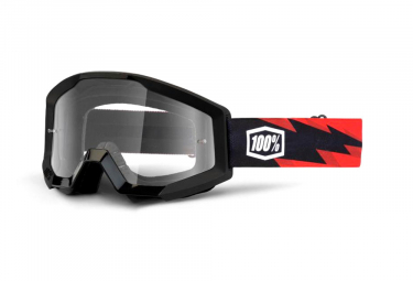 100% STRATA Goggle Slash - Clear Lens