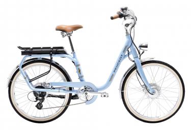 Peugeot eLC01 Hybrid Urban Bike Shimano Tourney/Altus 8S 24 Blue 2019