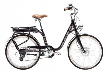 Peugeot eLC01 Hybrid Urban Bike Shimano Tourney/Altus 8S 24 Eggplant 2019
