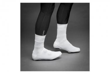Couvre Chaussure GripGrab Primavera Mi-Saison Blanc