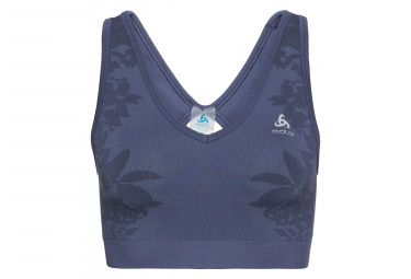 Odlo Blackcomb Seamless Medium Bra Blue Indigo