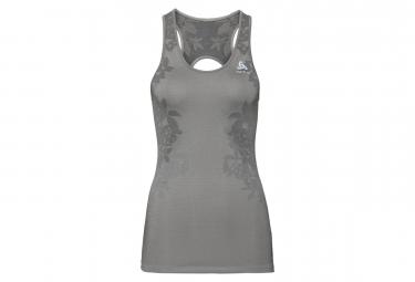 Odlo Ceramicool Blackcomb Tank Top Grey Silver Black