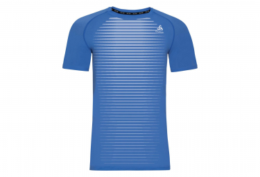 Odlo Ceramicool Pro Short Sleeve Mid-Layer Blue