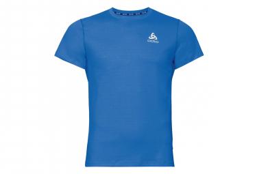 T-Shirt Manches Courtes Odlo Ceramicool Bleu