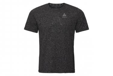 Odlo Millennium Linencool Short Sleeve Jersey Black Melange
