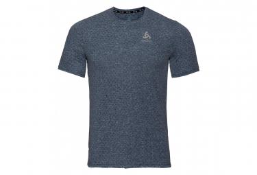 T-Shirt Manches Courtes Odlo Millennium Linencool Ensign Bleu Melange