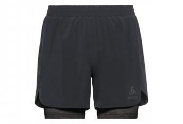 Odlo Millennium Linencool Pro 2-in-1 Shorts Black