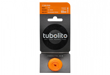 Tubolito S Tubo Road Light Tube 700c Presta 60 mm