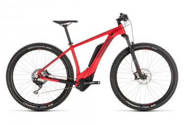Cube Reaction Hybrid Race 500 Electric Hardtail MTB Shimano SLX / XT 11S 27.5'' Plus 2019 Red