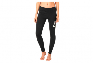 Fox Womens Long Tight Enduration Legging Black / White