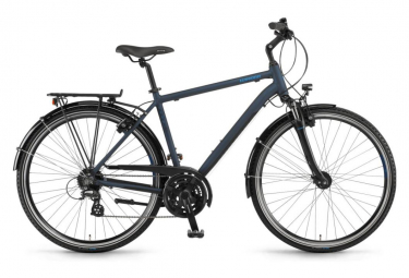 Winora Domingo 24HS Man City Bike Shimano Altus 24 S Blue / Black 2019