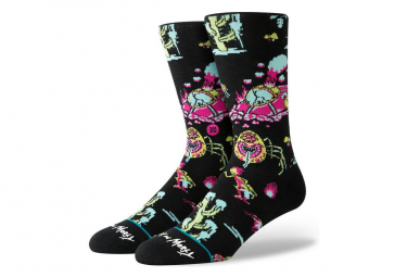 Stance Socks Crash Landing Black / Multi