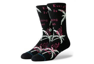 Chaussettes Mi-Hautes Stance Everything Is Great Noir / Blanc / Rose