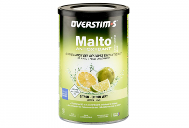 Boisson Énergétique Overstims Malto Antioxydant Citron - Citron vert 500g