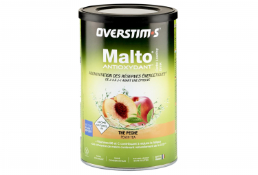 Boisson Énergétique Overstims Malto Antioxydant Thé Pêche 500g