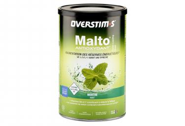 OVERSTIMS Malto Antioxydant Energy Drink Menta 500g