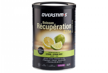 OVERSTIMS Recovery Drink ELITE Lemon Lime 420g