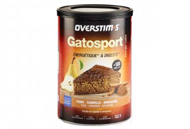 OVERSTIMS Sports Cake GATOSPORT Pear - Cinnamon - Nougatine 400g