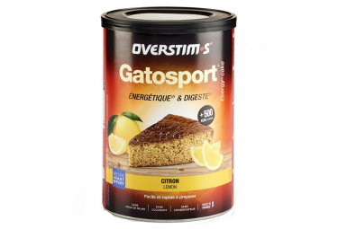 Image of Gateau energetique overstims gatosport citron 400g