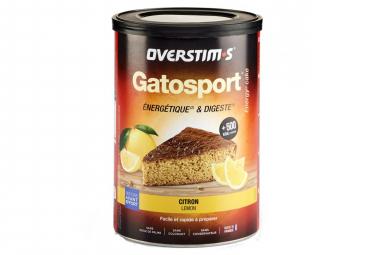 Gâteau Energétique Overstims Gatosport Citron 400g