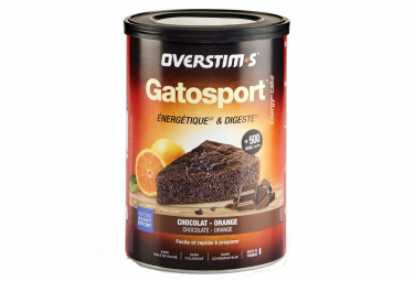 Gâteau Energétique Overstims Gatosport Chocolat - Orange 400g