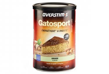 Gâteau Energétique Overstims Gatosport Amande 400g
