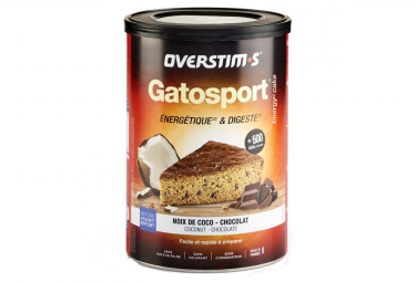 OVERSTIMS Sports Cake GATOSPORT Coconut - Chocolate 400g