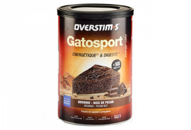 OVERSTIMS Sports Cake GATOSPORT Brownie - Pecan nut 400g