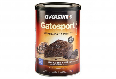 OVERSTIMS Sports Cake GATOSPORT Chocolate negro intenso 400g