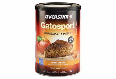 Overstims Gatosport Sports Cake Apple Salt Butter Caramel 400g