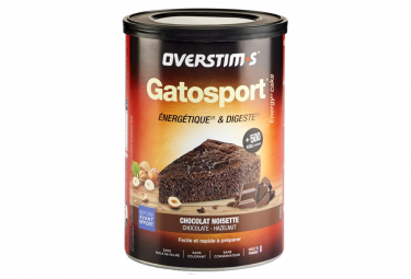 Overstims Gatosport Sports Cake Chocolate avellana 400g