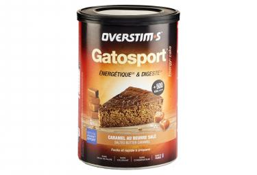 Gâteau Energétique Overstims Gatosport Caramel beurre salé 400g
