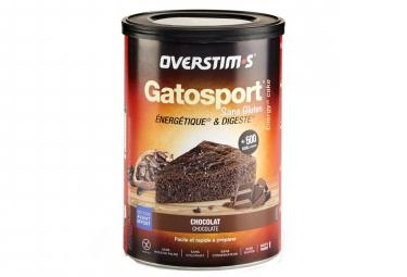 OVERSTIMS Sports Cake GATOSPORT SIN GLUTEN Chocolate 400 g