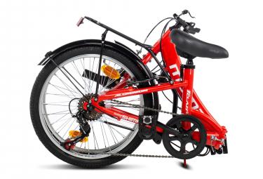 Vélo Pliant Moma First Class II 20'' Shimano 6V Rouge