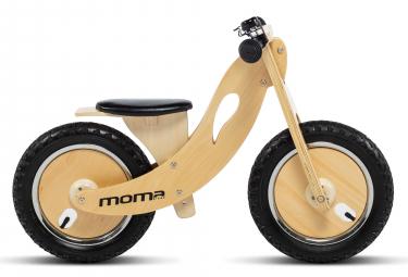 Bicicleta sin pedales Moma Bikes Woody Sport 12'' 12'' Beige