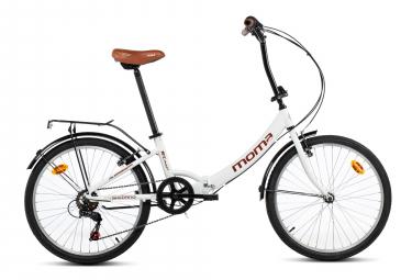 Bicicleta Pegable Moma Bikes Top Class 24'' 24'' Blanc
