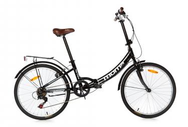 Moma Bikes Bicicleta Plegable Urbana SHIMANO TOP CLASS 24' Alu, 6V. Sillin Confort