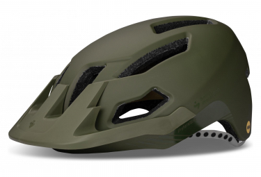 Casque All Mountain Sweet Protection Dissenter Mips Vert Kaki Mat