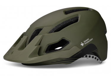 Casque All Mountain Sweet Protection Dissenter Vert Kaki Mat