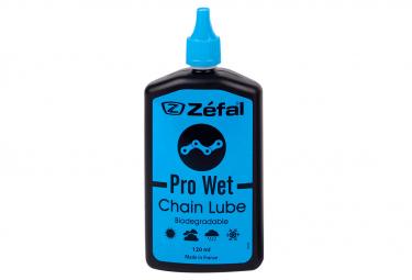 Tube d'Huile pour Chaîne Zefal Pro Wet Lube 120 ml