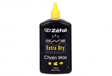 Zefal Chain oil Extra Dry Wax and 120 ml