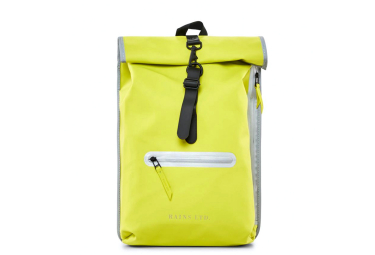 Rains LTD Roll Top Rucksack Neon Yellow