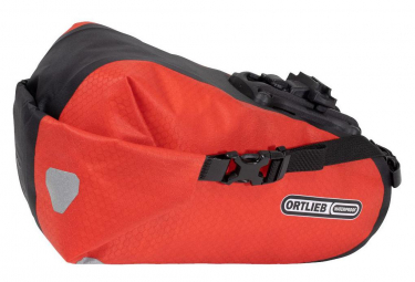 Ortlieb Two 4.1 L Saddle Bag Signal Red Black
