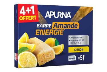 Energy Bar Apurna Limón-Almendra 5x25g