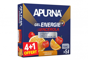 Energetic Gel Apurna Difficult passage Ac rola Orange 5x35g