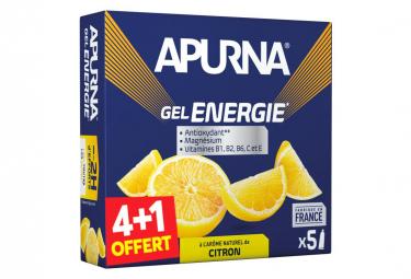Gel Énergétique Apurna Energie Citron 5x35g