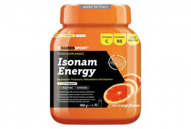 Boisson Energétique NamedSport Isonam Energy 480g Orange