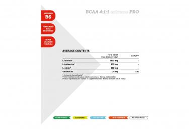 Complément Alimentaire NamedSport BCAA 4:1:1 ExtremPRO 110 Comprimés