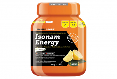 NamedSport Energy Drink Isonam Energy 480g Limón